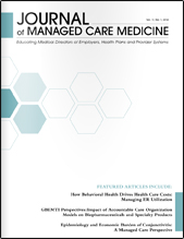 journal of managed care medicine